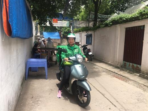 Chị Nguyễn Thị Ngọc Dung - Ảnh: MINH PHƯỢNG