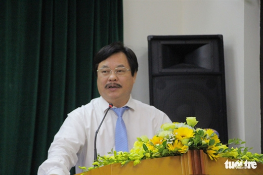 Ông Nguyễn Hồng Minh, Tổng cục trưởng Tổng cục Giáo dục nghề nghiệp - Ảnh: HÀ THANH