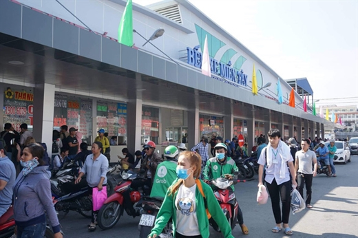 Các bến xe tại TP.HCM không tăng giá vé xe đò Tết dương lịch 2020 - Ảnh: QUANG ĐỊNH
